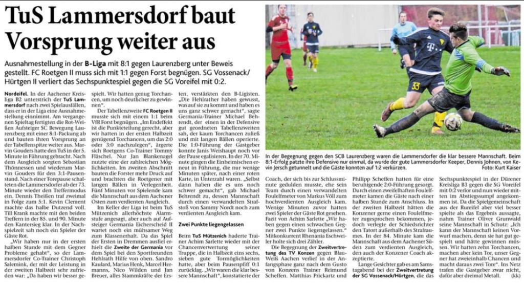 Eifeler Zeitung vom 21.11.2017