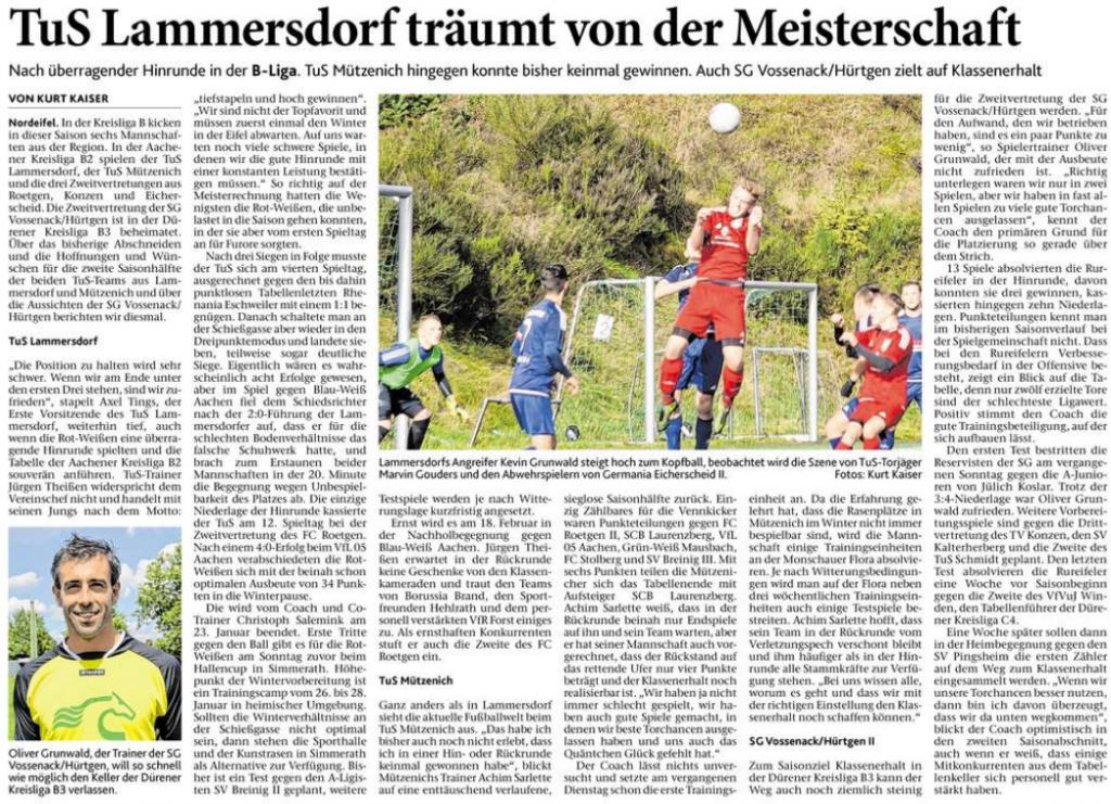 Eifeler Zeitung, 20.01.2018