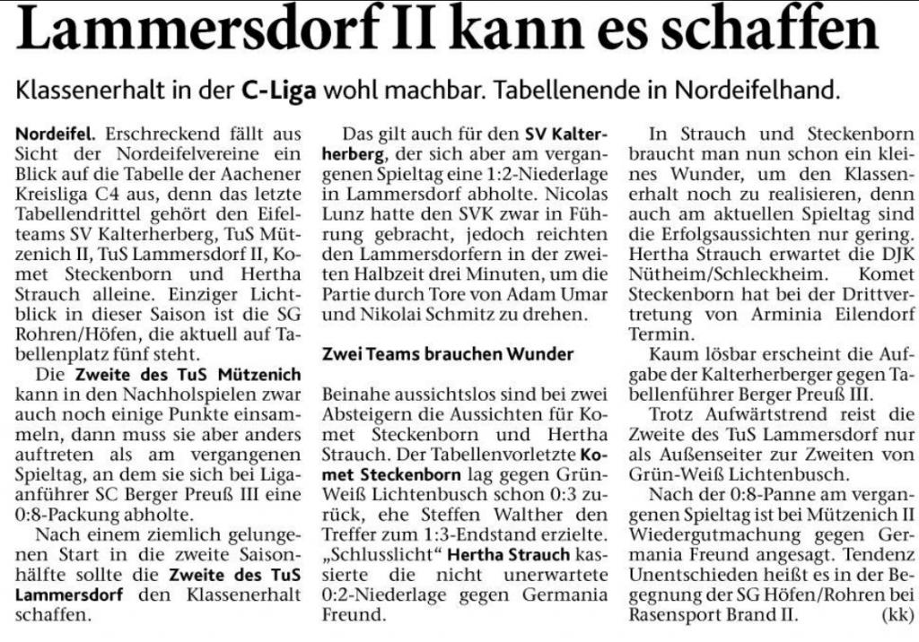 Eifeler Zeitung 05.04.2018