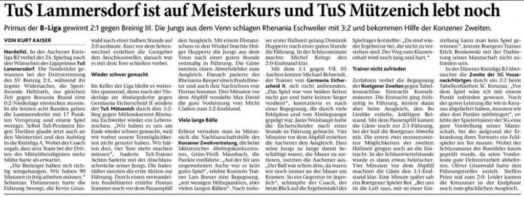 Eifeler Zeitung, 24.04.2018
