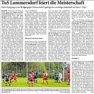 Eifeler Zeitung, 01.05.2018