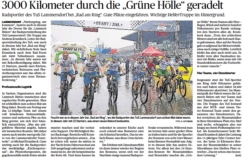 Eifeler Zeitung, 06.08.2019
